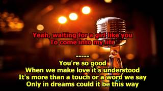 Waiting For Girl Like You - (HD Karaoke) Foreigner