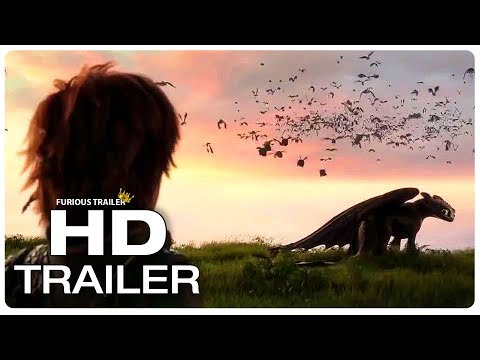 HOW TO TRAIN YOUR DRAGON 3 Goodbye Toothless Trailer (NEW 2019) Animated Movie HD