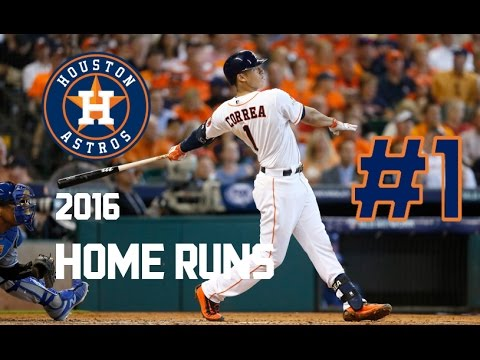 Carlos Correa | 2016 Home Runs