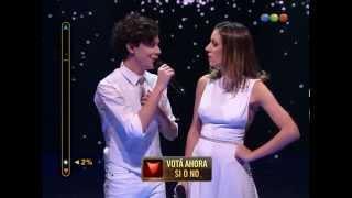 """Duetos: Alan y Stefanía cantan """"Gracias por la música"""""""