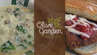 Tasty Thursday: Olive Garden Lunch Duo Episode 1