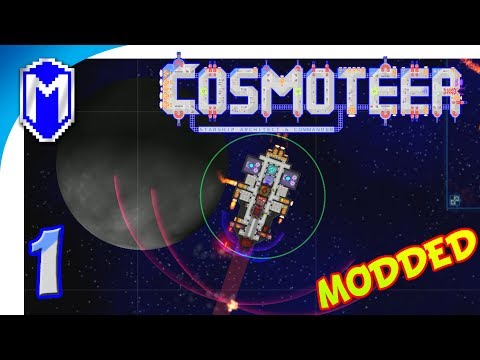 Cosmoteer - Building Our Own Pirate Killing Spaceship - Let's Play Cosmoteer Abh Mod Gameplay Ep 1