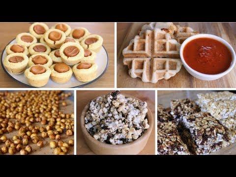 5 Easy After School Snack Ideas (Vegan)