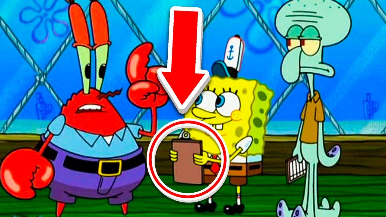 Animation Mistakes in SpongeBob That Are Unforgettable