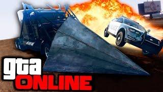 ГТА ОНЛАЙН - МАШИНА ТАРАН ЗА $5.000.000 Обновление Лихачи и трюкачи: особые гонки в GTA 5 Online