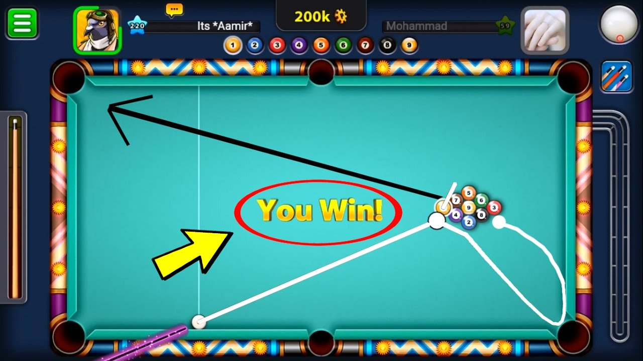 Always Win in 9 Ball Pool With 1 Simple Trick - Miniclip 8 ...