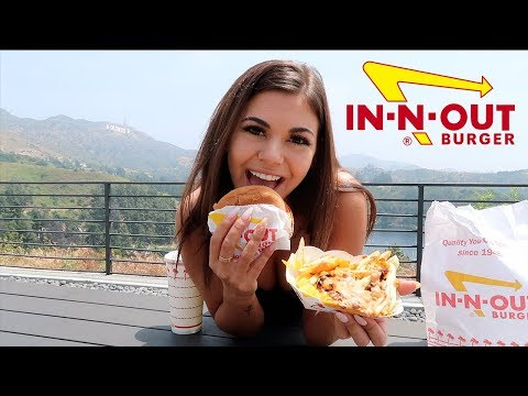 IN-N-OUT MUKBANG !!!!!!