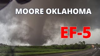 Violent Moore, OK Tornado from May 20, 2013 Rated EF-5