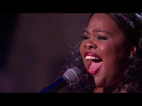 Amber Riley  And I Am Telling You Live @ Royal Variety Performance 2016