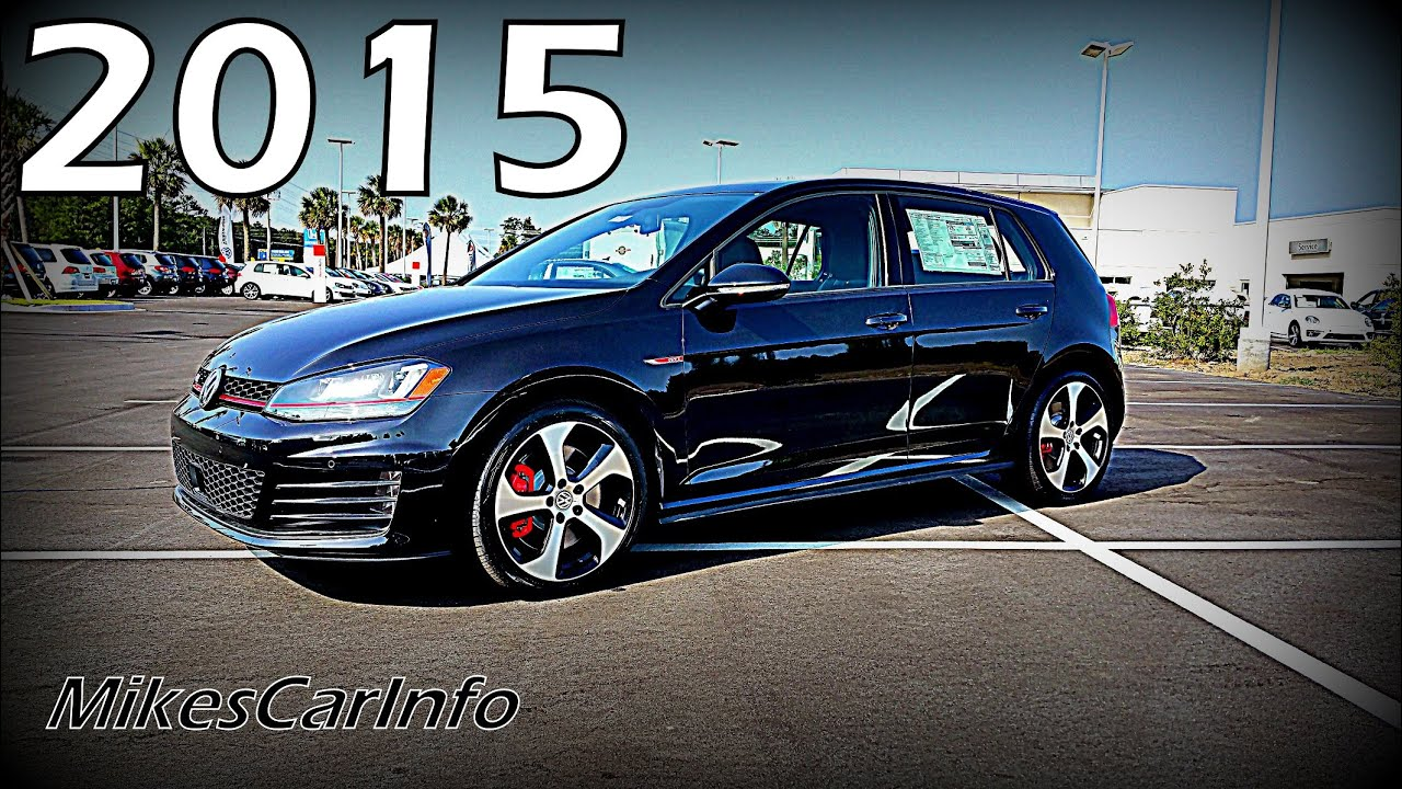 2015 Volkswagen Golf GTI SE w Performance Package - YouTube
