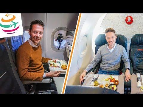 Turkish Airlines vs. Lufthansa Business Class A321 | GlobalTraveler.TV thumbnail