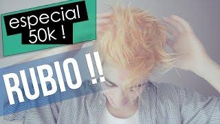 RETO: ME TIÑO DE RUBIO! - Especial 50k | Alejo Igoa