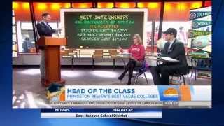 "NBC ""TODAY"": Colleges That Pay You Back"