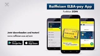 Raiffeisen ELBA-pay App: ZOIN
