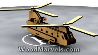 ch 47 chinook helicopter 3d assembly 720hd