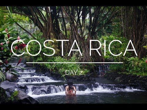 Costa Rica Day 2: Venado Caves, La Fortuna & Tabacon Hot Springs