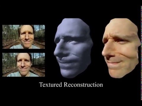Lightweight Binocular Facial Performance Capture under Uncontrolled Lighting -SIGGRAPH Asia 2012