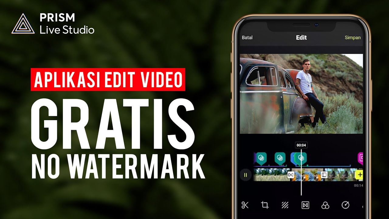 Aplikasi Editing Video GRATIS dan NO WATERMARK ft. PRISM Live Studio