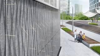 Energieeffiziente, kerngedämmte Betonfassaden mit Schöck Isolink®.