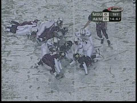 2000 - Texas A&M Vs MSU- The Snow Bowl