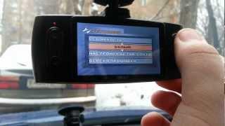 Видеорегистратор TEXET DVR-3GP Часть 2