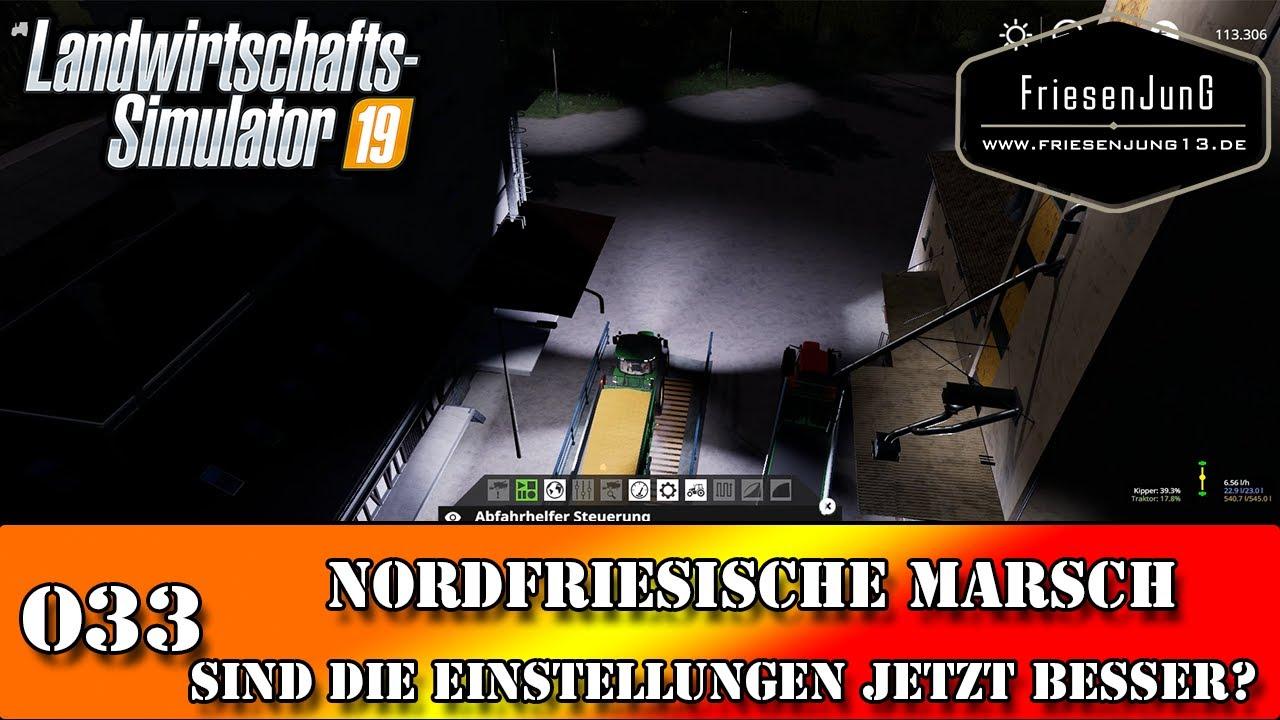 LS19 Nordfriesische Marsch mit Courseplay 033 - Sind die Einstellungen jetzt besser?