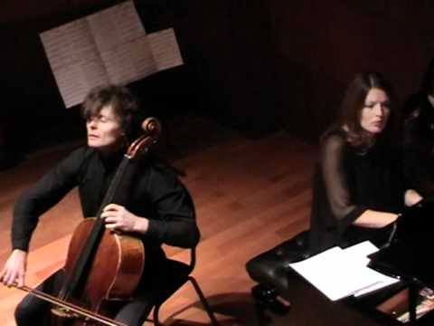 "Rustam Komachkov Polina Osetinskaya Schubert.Sonata ""Arpeggione"" for cello & piano. Part#1"