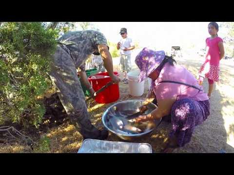 Iu Mienh M'jangc Dorn Weic 2017.Men's retreat at East park Reservoir.Iu Mienh camping and fishing.