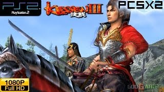 Kessen III - PS2 Gameplay 1080p (PCSX2)