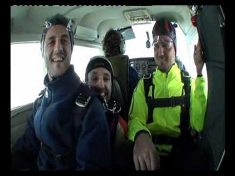 Salto en paracaidas Alain y Juan - Alain and Juan parachute jump