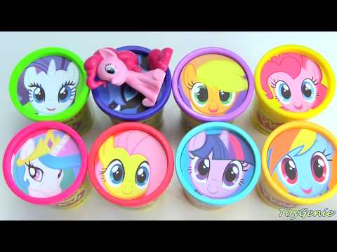 My Little Pony Play Doh Surprises MLP Twilight Sparkle, Princess Celestia, Pinkie Pie