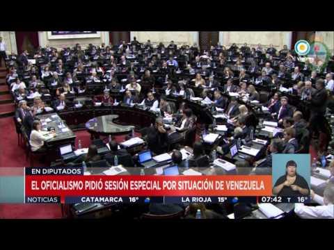 TV Pública Noticias - Cambiemos pidió una sesión especial por Venezuela