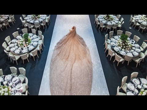 This Elie Saab Bride Had The Most Magical Wedding Celebration !