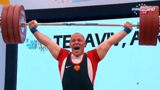 2014 European Weightlifting Championships, Men 105 kg \ Тяжелая Атлетика. Чемпионат Европы