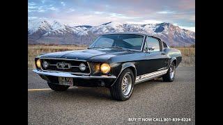 1967 Форд Мустанг GT фастбек '' код s'' 390 V8 і 4-ступінчастою механічною сертифікованих відповідними числами Марті рідко
