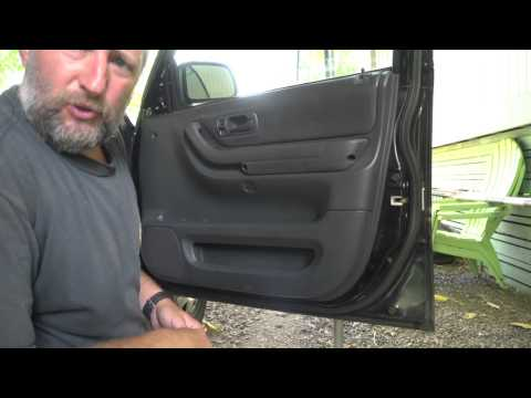 How to remove door panel Honda CRV