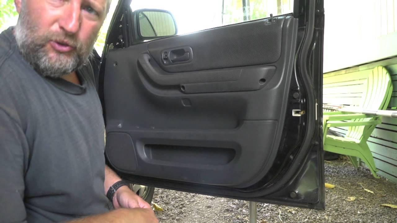 How To Remove Door Panel Honda Crv Youtube