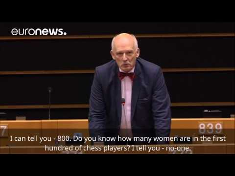 Polish MEP launches sexist tirade in EU Parliament