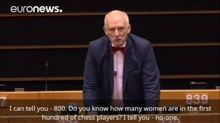 Polish MEP launches sexist tirade in EU Parliament