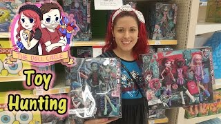 The Doll Circle One Year Anniversary Toy Hunting FOUND NEW Monster High, Ever After High, Zelfs