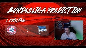 1.Spieltag Bundesliga 19/20 (Prognose) Meine Tipps  l Deutsch