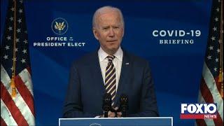 President-elect joe biden will make remarks focusing on the coronavirus pandemic in wilmington, delaware