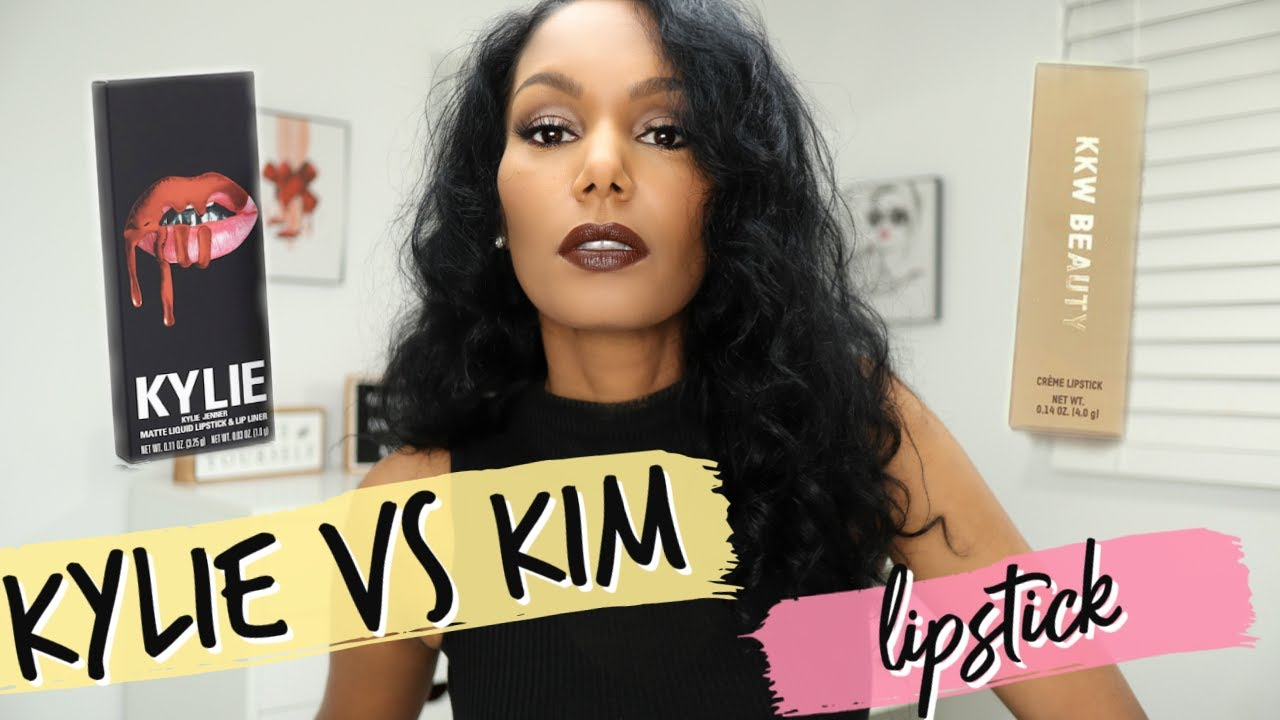 KYLIE JENNER VS KIM KARDASHIAN │Who has the better Lipstick? No BS Review