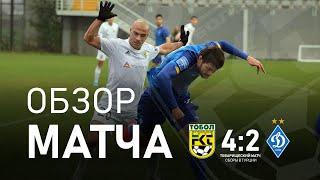 Тобол 4 2 Динамо обзор матча