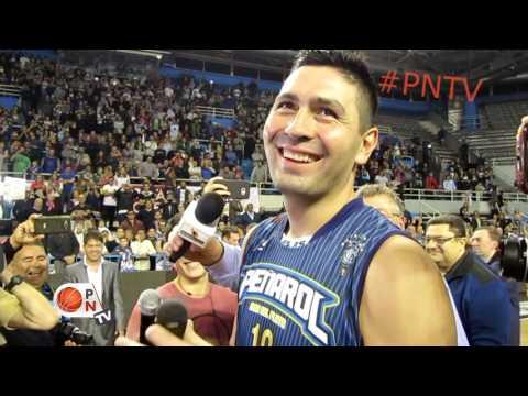 #PNTV 10 - Último partido de Leo Gutierrez en la #LNB