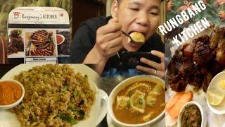 Rungmang kitchen || dhungama poleko pork bbq and baudha stupa || Nepali mukbang 2020