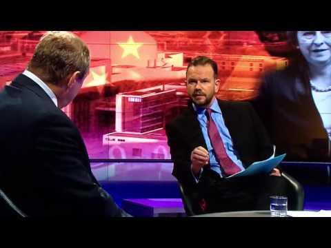 James O'Brien v Ed Davey on Newsnight