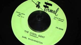 the Cool Gent  -  Earl Washington