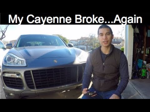 More Problems With My Porsche Cayenne 90k Miles Control Arms Drive Shaft Support