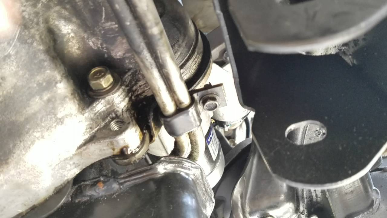 small resolution of starter removal and install